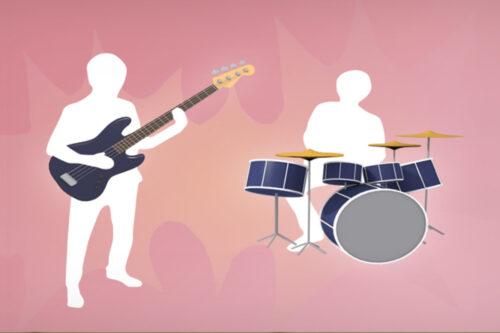 LIVE Drums & LIVE Bass